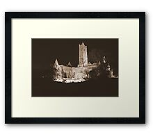 Quin Abbey Framed Print