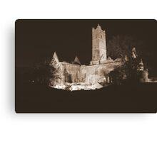 Quin Abbey Canvas Print