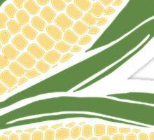 Sweet Corn Plant, Design Sticker