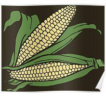 Sweet Corn Plant, Design Poster
