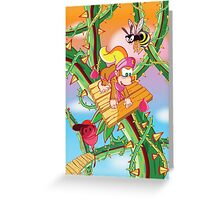 Donkey Kong Country 2 - Bramble Blast Greeting Card