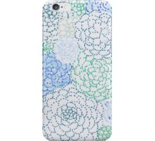 Hand Doodled Flowers iPhone Case/Skin
