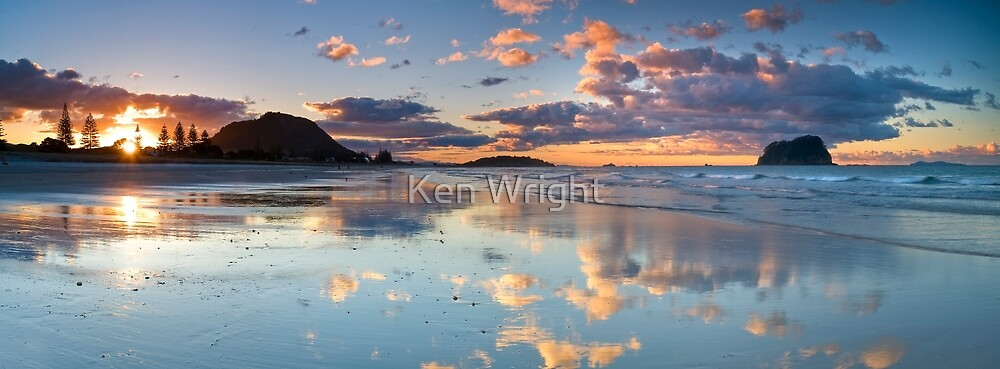 Tay Street ~ Low Tide Blush by Ken Wright