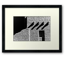 Architectural abstract Framed Print