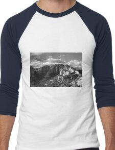 Cliffs of Sedona Men's Baseball ¾ T-Shirt