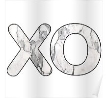Letter series x & o (hugs and kisses) Poster