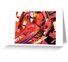 Trance Divan Greeting Card