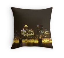 After The Show Throw Pillow