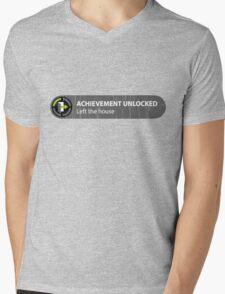Achievement Unlocked Left The House Mens V-Neck T-Shirt
