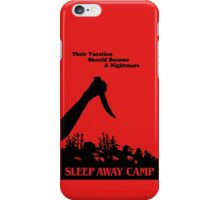 Sleepaway Camp Vintage iPhone Case/Skin