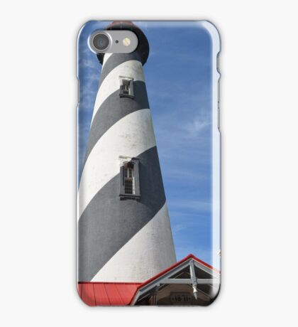 St. Augustine Lighthouse  iPhone Case/Skin