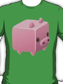 Square, Cube Pig T-Shirt