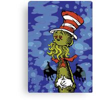Cthulhu in the Hat Canvas Print
