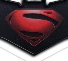 Bats vs Supes Sticker