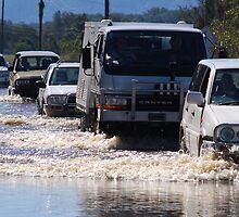 Harrington Road Flooded by Graham Mewburn