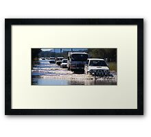 Harrington Road Flooded Framed Print