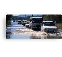 Harrington Road Flooded Canvas Print