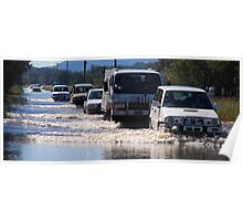 Harrington Road Flooded Poster