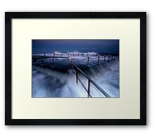 That was close! Framed Print