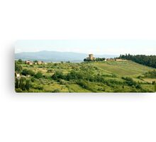 Toscana - the Chianti Region Canvas Print