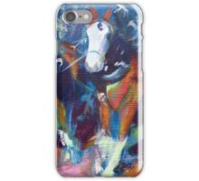 The leaders, two draft horses iPhone Case/Skin