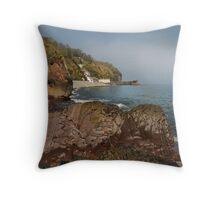 Clovelly - North Devon Throw Pillow