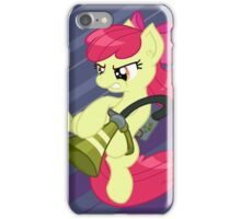 Pest control pony with background iPhone Case/Skin