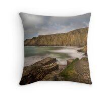 Hartland Quay Throw Pillow