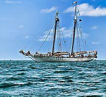 Sailboat - Key West, Fla by Memaa