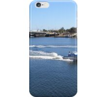 Sunny Day for Boating! Port Adelaide River. S. Aust iPhone Case/Skin