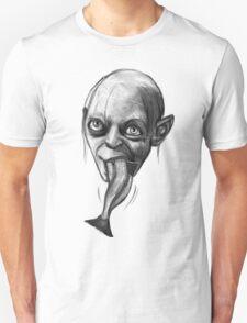 (Bigger) Gollum's breakfast Unisex T-Shirt