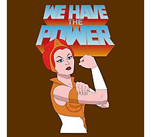 We have the power Photographic Print