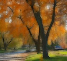 Memory of an Autumn Day by Lyle Hatch