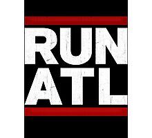RUN ATL - Atlanta NBA Photographic Print
