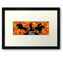 Davy's Angels Framed Print