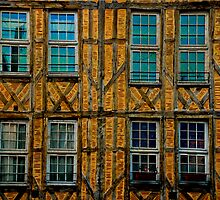 Facade in Troyes by Luca Renoldi