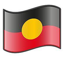 Aboriginal Flag Photographic Print