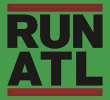 RUN ATL - Atlanta NBA One Piece - Short Sleeve