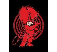 Blind Red Devil Photographic Print