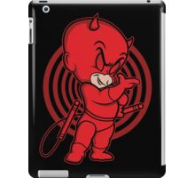 Blind Red Devil iPad Case/Skin