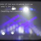 MAROON MUSIC - Leaving California by Vanessa Sam
