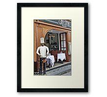Cine Citta Framed Print