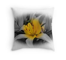 Lilies...............Varing Colors Throw Pillow