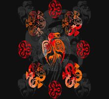 Crow mandalas 1 Unisex T-Shirt