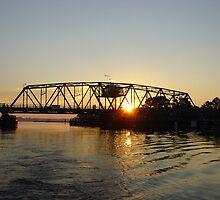 Bridge to Gwynn's Island, Va by Timothy Gass