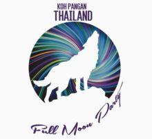 KOH PANGAN THAILAND, Full Moon Party T-Shirt