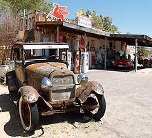 Hackberry General Store by Sally P  Moore
