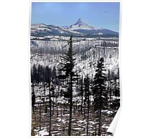 Mount Washington, Oregon Poster