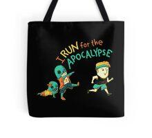 Run for the Apocolypse Tote Bag