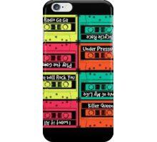 Queen Cassettes  iPhone Case/Skin